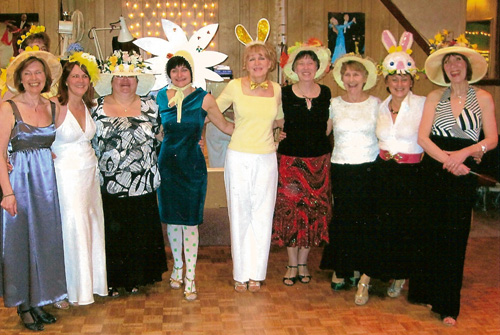 easter dance theme night
